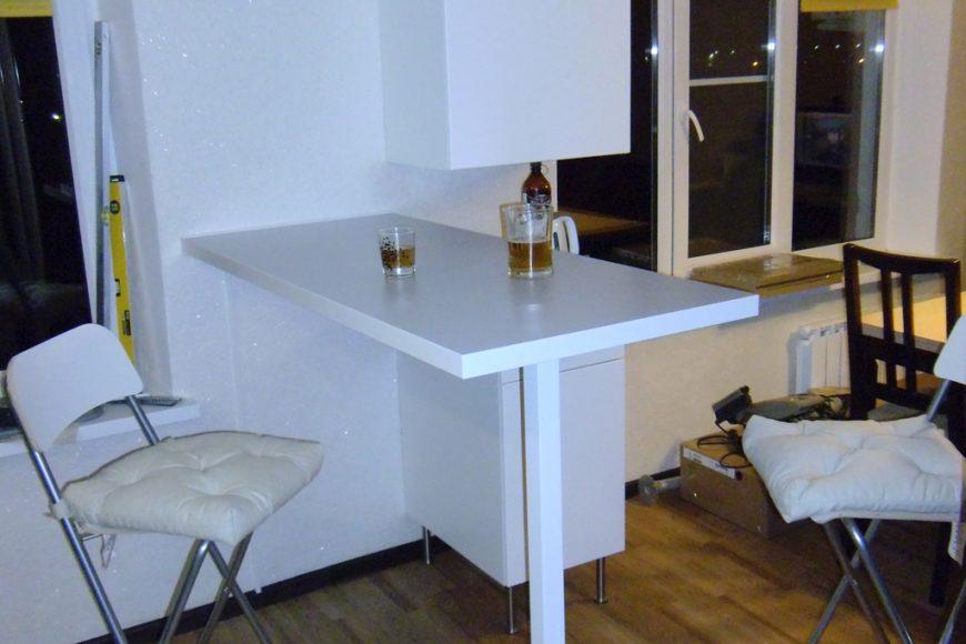 Барная стойка. Общий план. Вид из кухни