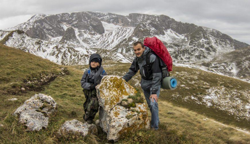 Туристический поход в Кавказский заповедник. Озеро Псенодах. Фишт-Оштеновский массив