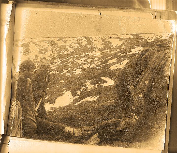 Спасательные работы в сентябре 1975 года
