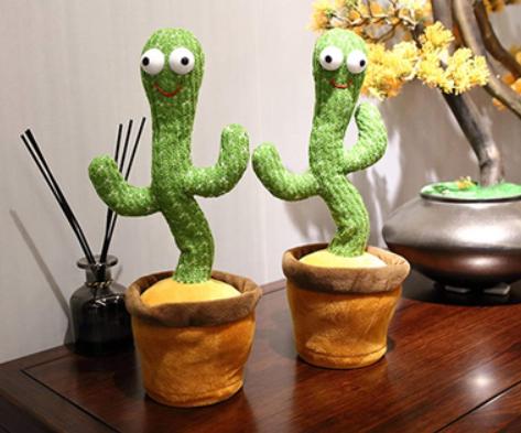 Танцующий кактус — музыкальная говорящая игрушка за 1590р. — Обман!