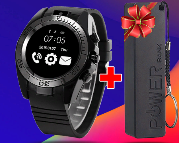 Часы Smart Watch sw007 + powerbank за 2490р. — Обман!