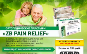 ZB PAIN RELIEF ортопедические пластыри за 147р. — Обман!
