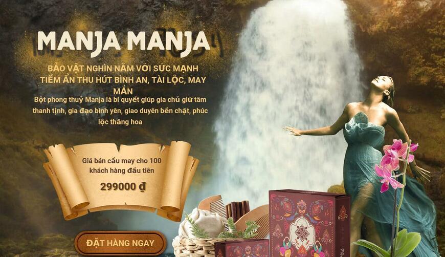Manja — амулет для удачи и богатства. Осторожно! Обман!!!