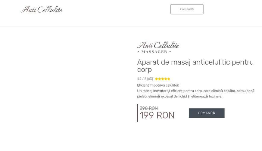 Anti cellulite massager — антицеллюлитный массажер для тела. Осторожно! Обман!!!