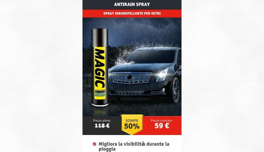 Antirain Spray — водоотталкивающий спрей. Осторожно! Обман!!!