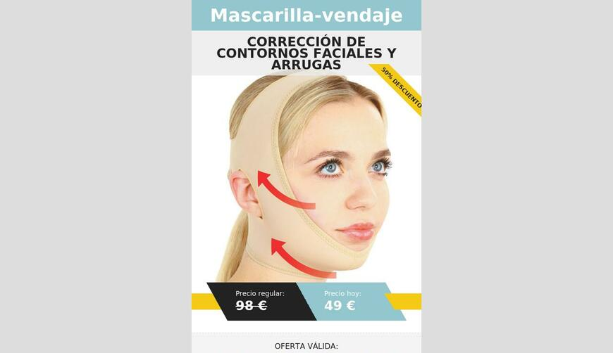 Bandage Mask — маска-бандаж. Осторожно! Обман!!!