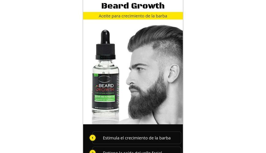Beard Growth — для роста волос. Осторожно! Обман!!!