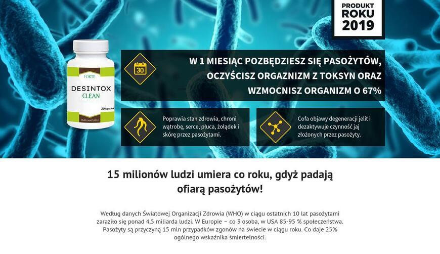 Desintox Clean — капсулы на очищение организма от паразитов. Осторожно! Обман!!!