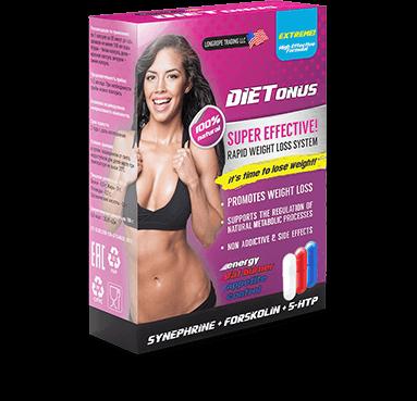 Dietonus - трёхфазное средство для снижения веса