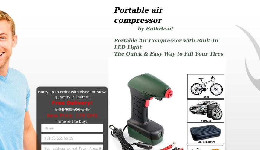 AIR DRAGON — портативный, воздушный компрессор. Осторожно! Обман!!!