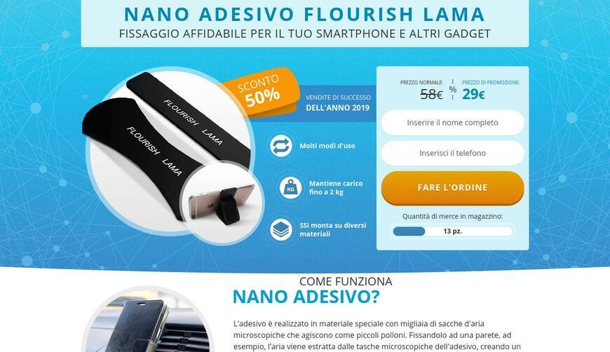 Flourish Lama — нанолипучка для телефонов и прочих гаджетов. Осторожно! Обман!!!