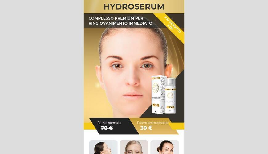 Hydroserum — сыворотка для омоложения. Осторожно! Обман!!!