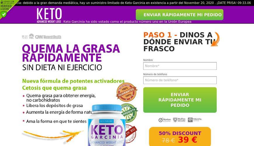 KETO Garcinia — продукт для похудения. Осторожно! Обман!!!