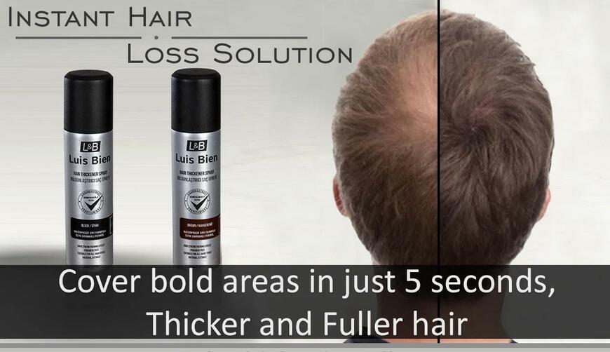 Luis Bien — спрей для утолщения волос. Осторожно! Обман!!!