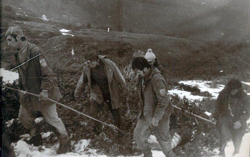 Массовая гибель туристов на Кавказе в 1975 году — Трагедия на «Тридцатке»