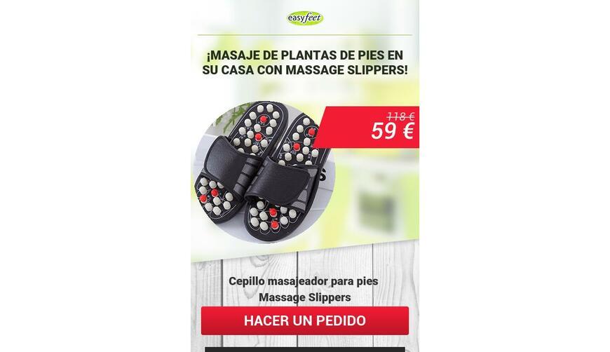 Massage Slippers — массажные тапочки. Осторожно! Обман!!!