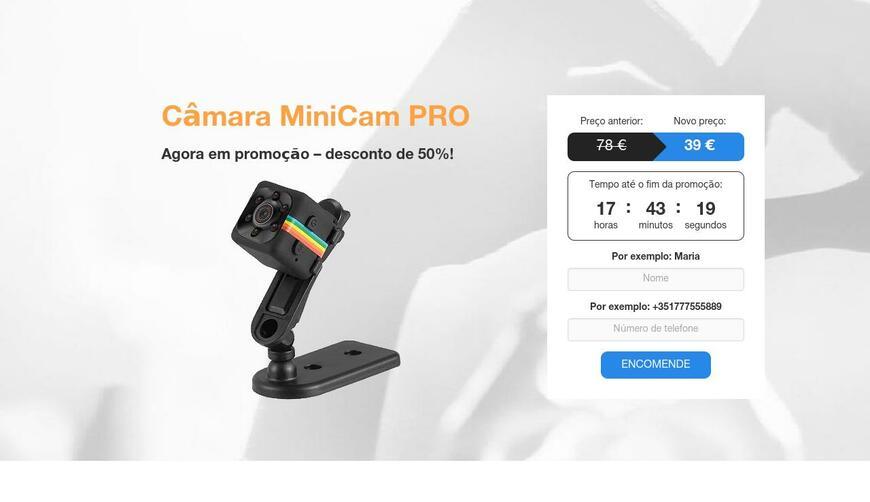 MiniCam PRO — портативная камера. Осторожно! Обман!!!