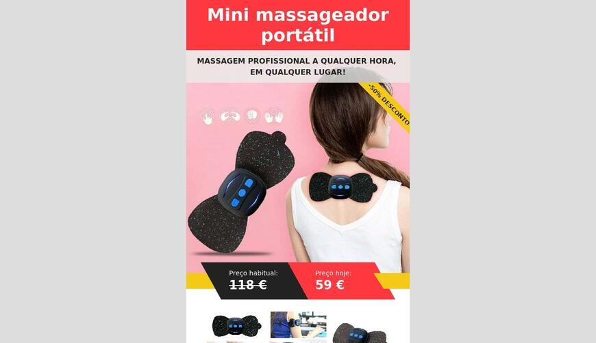Mini Massager — массажер. Осторожно! Обман!!!