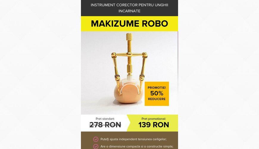 Инструмент для вросшего ногтя Makizume Robo. Осторожно! Обман!!!