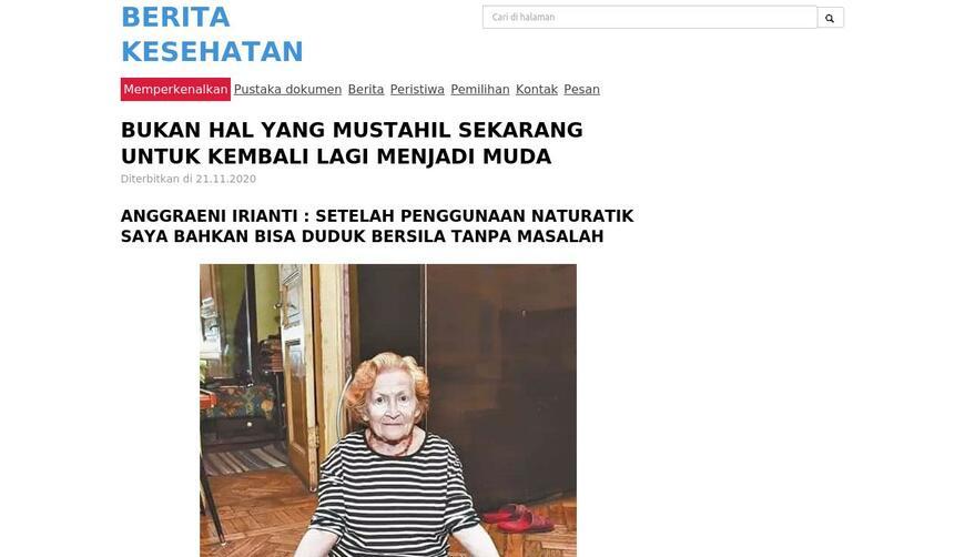 Naturatik — средство для суставов. Осторожно! Обман!!!