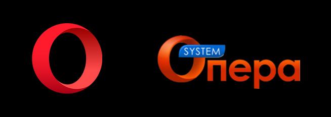 Плагиат логотипа известного интернет-браузера Опера