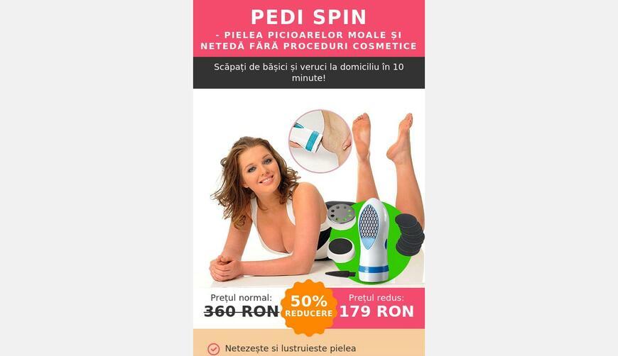 Pedi Spin — японская электрическая пемза USD. Осторожно! Обман!!!