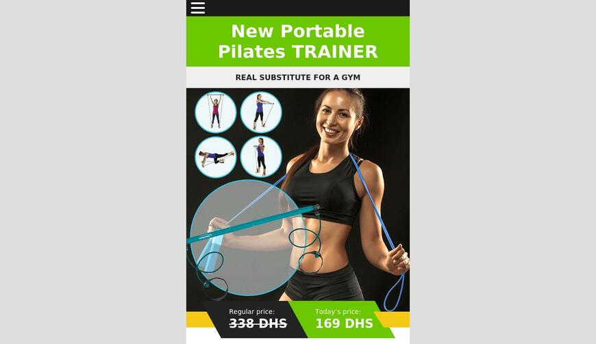 Portable Pilates Bar тренажёр. Осторожно! Обман!!!