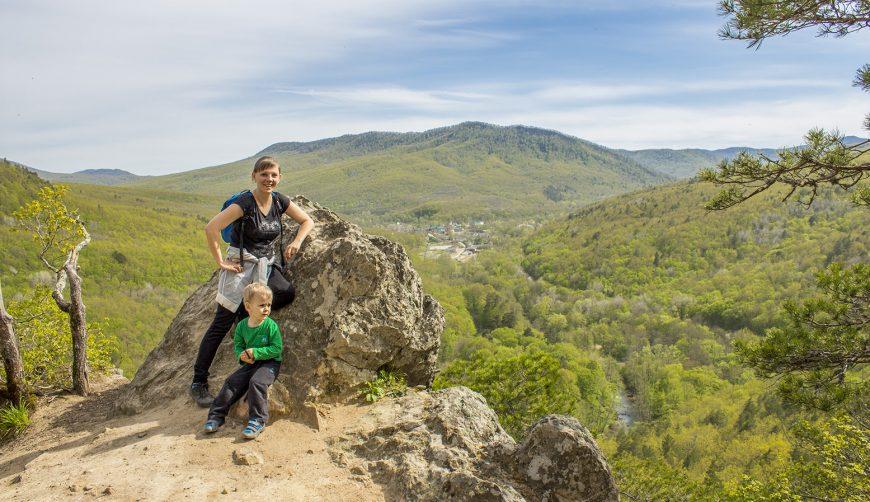 Всей семьёй в поход на Планческие скалы