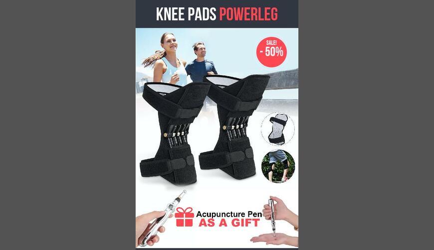 Knee joint support pads + Energy pen — коленный стабилизатор+ручка-массажер. Осторожно! Обман!!!