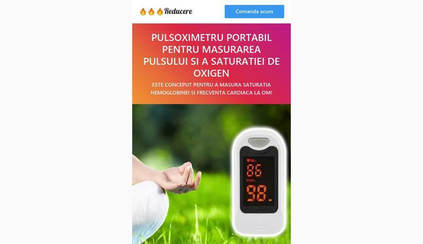 Пульсоксиметр для измерения уровня кислорода в крови. Осторожно! Обман!!!