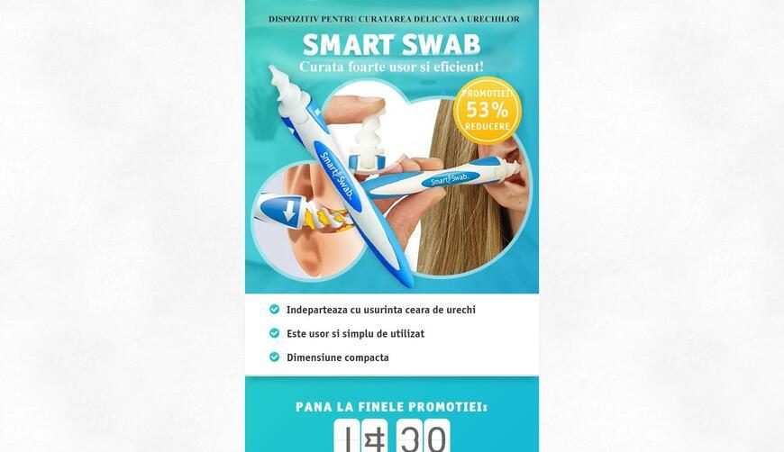 Очиститель ушей Smart Swab. Осторожно! Обман!!!