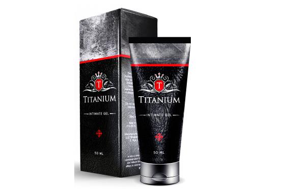 TITANIUM — гель для увеличения полового члена. Осторожно! Обман!!!