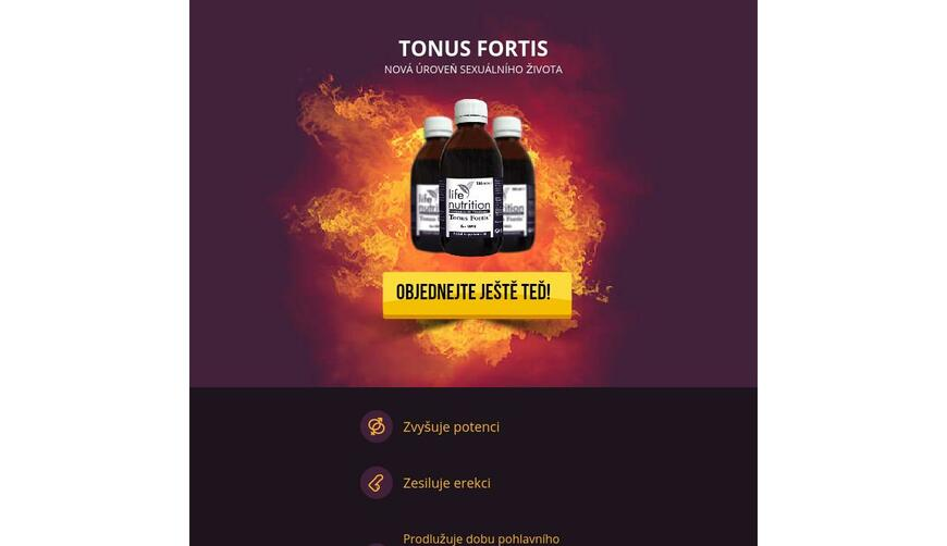 Tonus Fortis — для потенции. Осторожно! Обман!!!