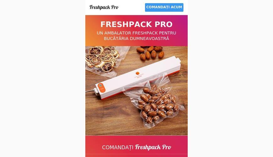 Freshpack Pro — вакуумный упаковщик для хранения продуктов. Осторожно! Обман!!!